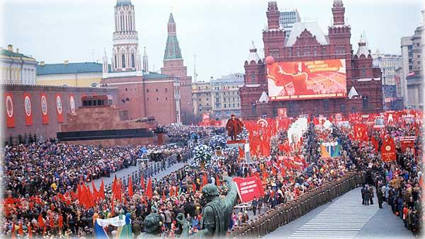 Как праздновали 1 Мая люди, проживавшие в СССР
