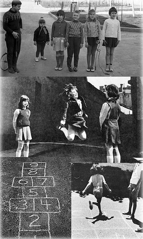 Во что играли советские дети во дворах