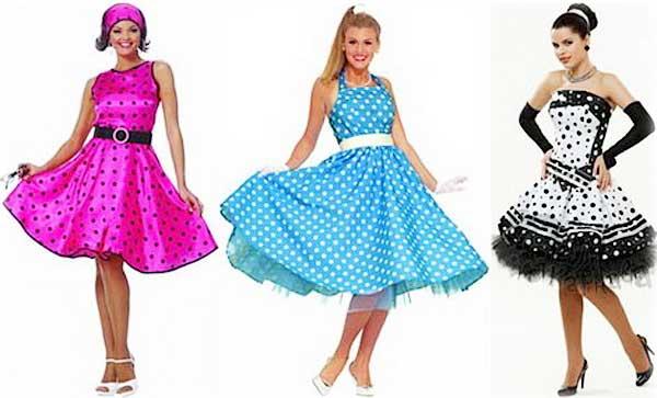 стиляги - платья