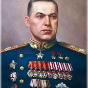 Великий советский военачальник Константин Рокоссовский